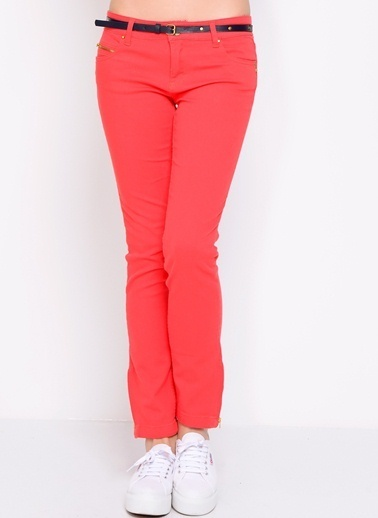 LMN by Limon Company Pantolon Kırmızı